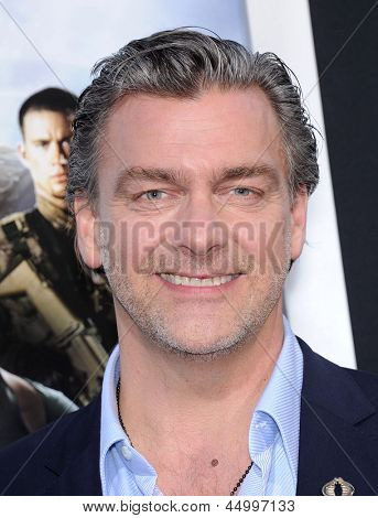 LOS ANGELES - MAR 28:  Ray Stevenson arrives to the