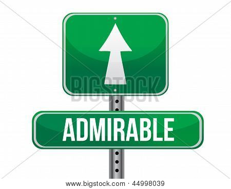 Admirable Road Sign Illustration Design