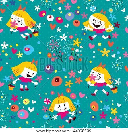 flower girl pattern