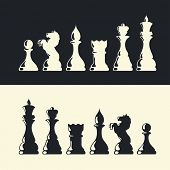 image of reining  - Chess pieces collection - JPG