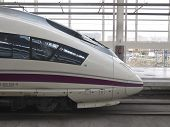 stock photo of high-speed train  - MADRID  - JPG
