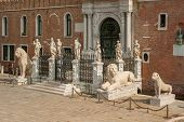 pic of arsenal  - The Porta Magna at the Venetian Arsenal Venice Italy - JPG