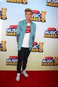 LOS ANGELES - APR 27:  Cody Simpson arrives at the Radio Disney Music Awards 2013 at the Nokia Theat