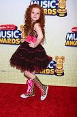 LOS ANGELES - APR 27:  Francesca Capaldi arrives at the Radio Disney Music Awards 2013 at the Nokia