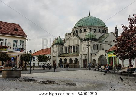 The Old Synagogue In Trencin