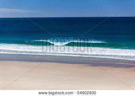 Ocean Beach Wave Blue Horizon