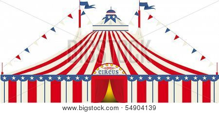 An american big top circus for you