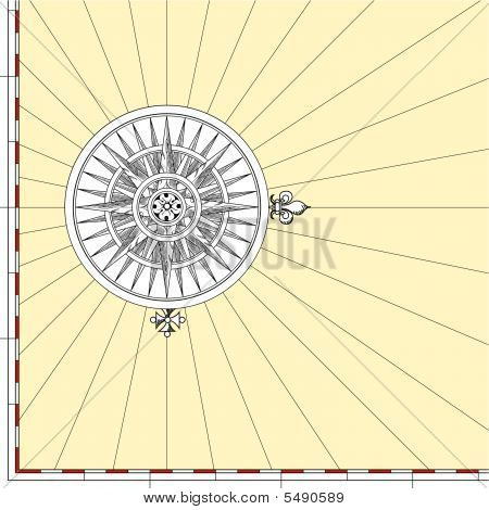 Map Compass Rose