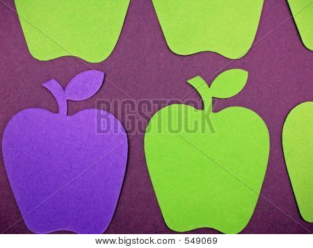Paper Apple Cut Outs