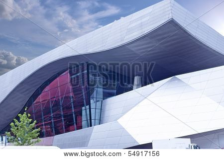 Munich -germany, June 17: Bmw Museum Building Shot In June 17, 2012 In Munich