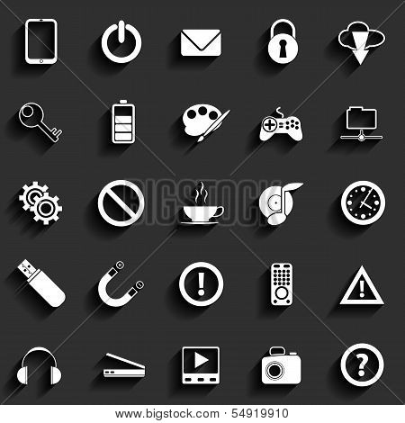 Universal Vector Flat Icons