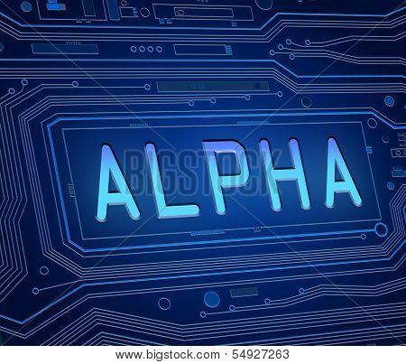 Alpha Concept.