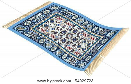 Magic Carpet Blue