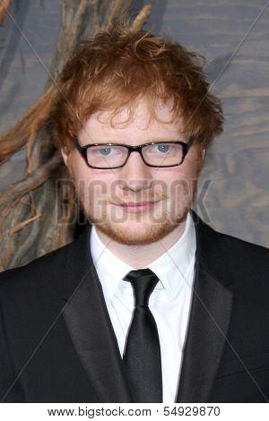 LOS ANGELES - DEC 2:  Ed Sheeran at the