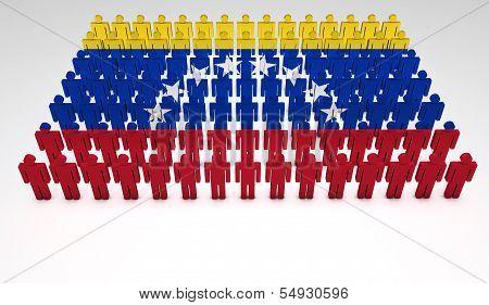 Venezuela Flag Parade