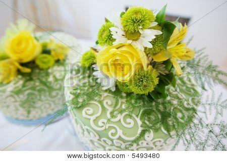 Double Wedding Cake