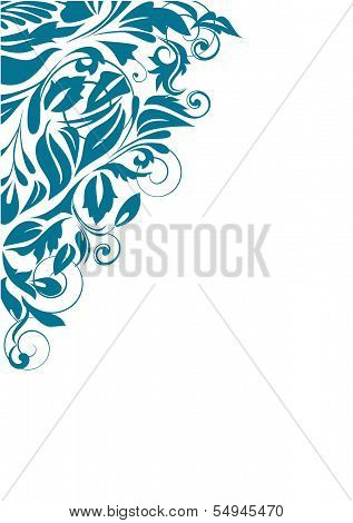 Abstract Curve Background. Vector Illustration.