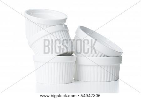 Ceramic Bakeware Isolated