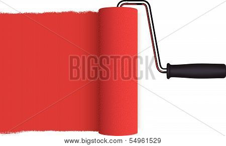 Platen isolated on white background. Vector