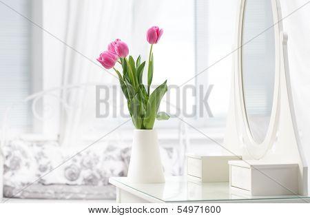 tulip in room