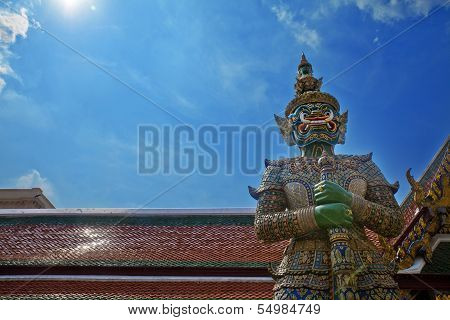 Demon Guardian, Grand Palace Bangkok