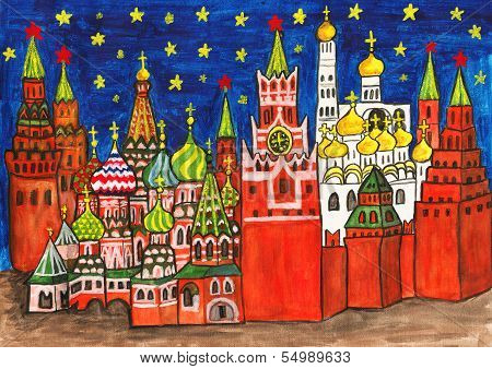 Moscow, Painting