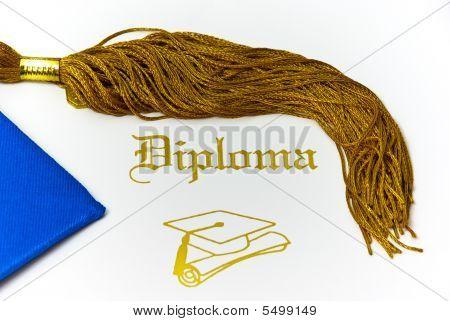 Diploma And Tassle