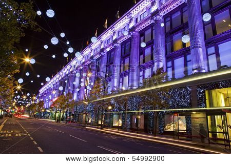 Selfridges In London
