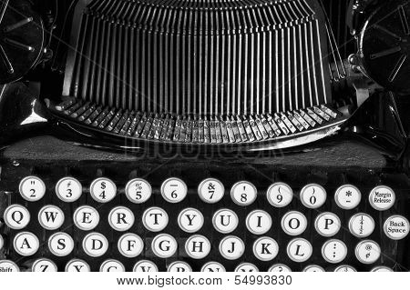 Antique Typewriter X