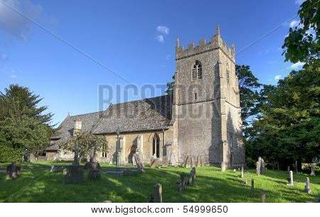 Cotswold Church At Ebrington