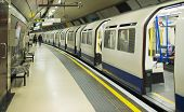 stock photo of railcar  - Underground in London - JPG