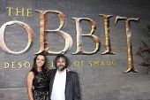 LOS ANGELES - DEC 2:  Katie Jackson, Peter Jackson at the