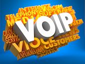 stock photo of voip  - VOIP  - JPG
