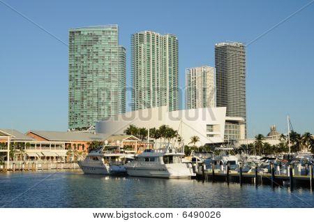 Bayside Marina em Miami