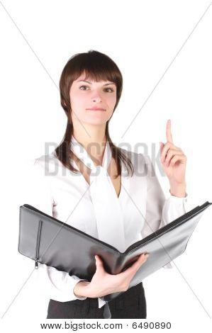 beautiful girl - secretary