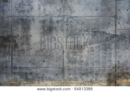 Grungy concrete wall.