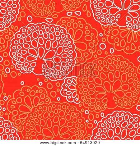 Seamless sea coral pattern