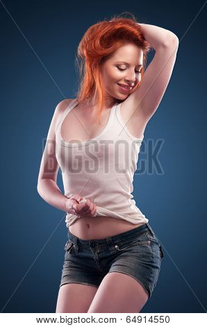 Girl In A T-shirt