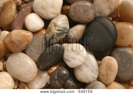 Smooth Stones Background