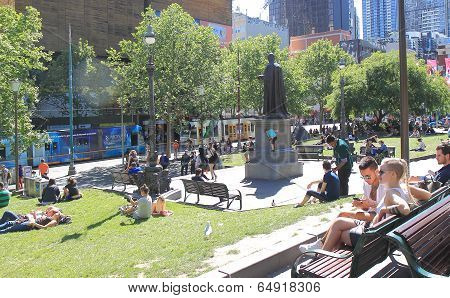 Melbourne City life