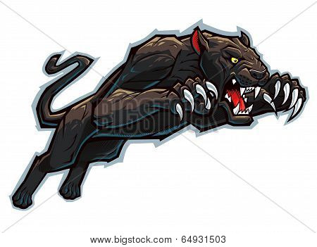 Attacking Panther