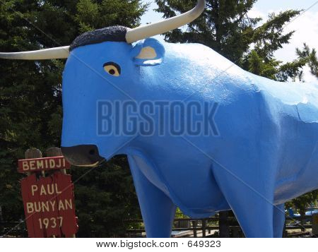 Paul Bunyans Blue Ox Babe