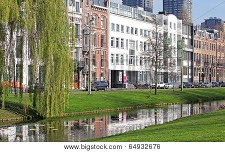 Centre Of The City Rotterdam, Netherlands