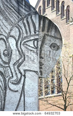 Picasso's work in the Rotterdam, Netherlands