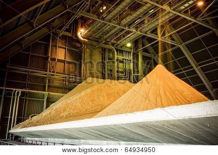 Gypsum Storage Hall