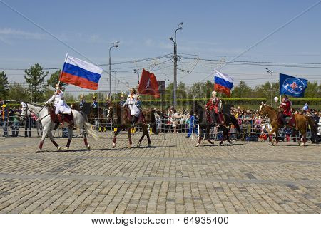 Cavalry Show In Moscow