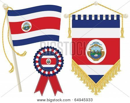 Costa Rica Flags