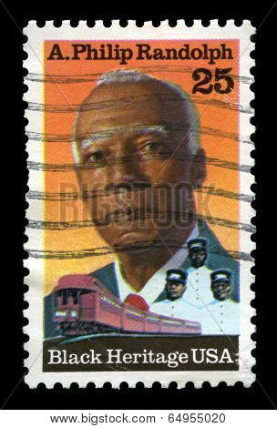 A. Philip Randolph Us Postage Stamp