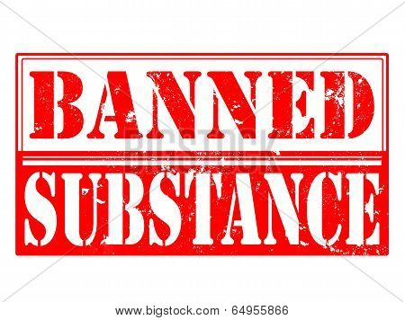 Banned Substance Stamp