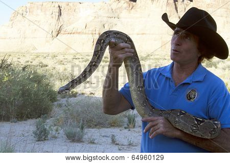 Terry Moore with Python